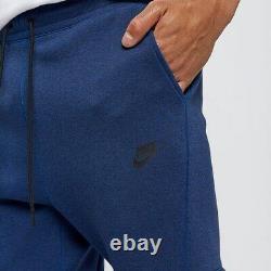 Nike Tech Fleece Joggers Sweat Pants Men's XL 805162-452 Obsidian Blue