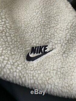 Nike Tech Joggers Sherpa Pants Bone, Black Aq2769-072 Men's Size XL