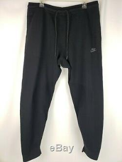 Nike Tech Knit Men's Sport Jogger Sweat Pants Black Size XL 832180-010 NWT