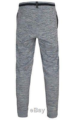Nike Tech Knit Pant Carbon Heather Gray Mens Joggers 832180-091 (Medium)
