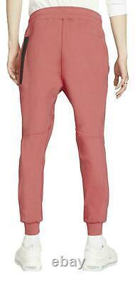 Nike Tech Pack Jogger Pants Sweatpants Pueblo Red Black CJ4280-603 Men's Large L