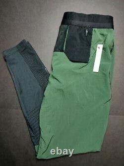Nike Tech Pack Mens Size Medium Green Running Pants BV5695 370