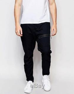 Nike Tech The One Woven Jogger Pant Cuffed Mens Black Size UK Large, 34