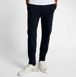 Nikelab Essentials XL Black Jogger Pants Trousers Mens 890071-010 Extra Large