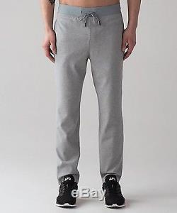 Nwt Lululemon Men's Heathered Smokey Grey Mainstay Jogger 31 Lno Taxes