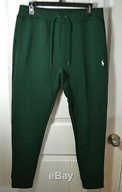 Nwt Men's Polo Ralph Lauren Green High Tech Tapered Sweat Pant Sz Med 2xl