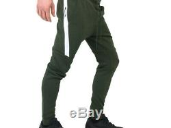 Nwt Nike Tech Fleece Joggers Slim Fit Pants Green Men's Sz M New 805162-356