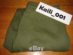 Off-White c/o Virgil Abloh Basic Long Pants Sweatpants Joggers Sz XL Pyrex Grn B