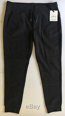Original Moncler Men Dark Grey / Charcoal Sweatpants Joggers Size XXXL (3XL)