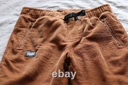 PATTA Corduroy Bottoms Brown Size Small\S W28-30 Pants Logo Script Cords
