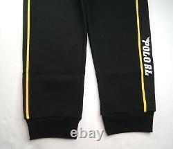 POLO RALPH LAUREN Men's Double-Knit Racing Jogger Pants Size L NEW NWT