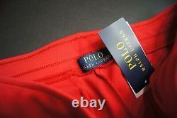POLO RALPH LAUREN Men's Gold Logo Double Knit Jogger Pants NEW NWT