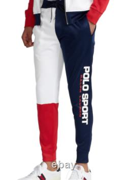POLO RALPH LAUREN Men's Polo Sport Colorblocked Fleece Jogger Pant NEW NWT