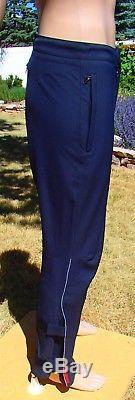 PRADA softshell pant dark gray cuff strap gusset jogger track trouser mens 48 SM