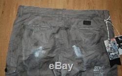 PRPS Coati Smeared Paint Jogger Pants Men's Size 36 NWT