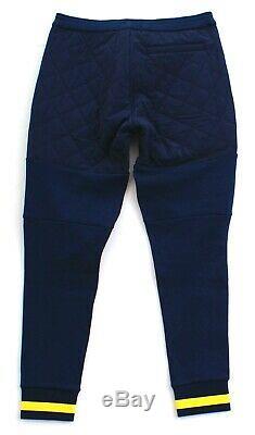 Polo Ralph Lauren Blue Polo Hi Tech Hybrid Athletic Cargo Joggers Pants Men's