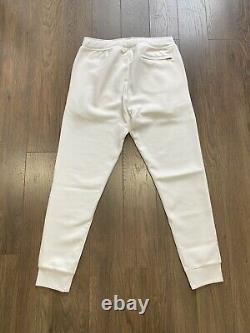 Polo Ralph Lauren Double Knit Tracksuit Hoodie Jogger White New WithTags Mens L