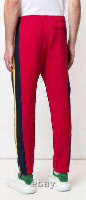 Polo Ralph Lauren Hi Tech Alpine Climb Cookie Jogger Pants Red And Yellow SizeS