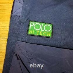 Polo Ralph Lauren Hi Tech Hybrid Jogger Sweatpants Blue Men Size Large