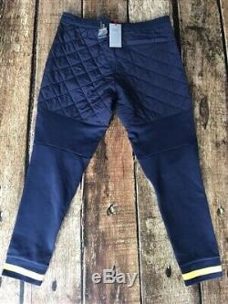 Polo Ralph Lauren Hi Tech Hybrid Pants Diamond Stitch Navy Mens XL New