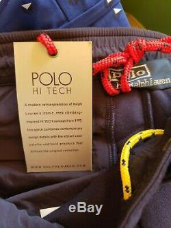Polo Ralph Lauren Men Hi-tech Hybrid Climbing Ski Jogger Track Pants XL $198 Nwt