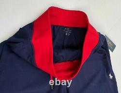 Polo Ralph Lauren Men L Double knit US Jacket Tracksuit Jogger Sweat Pants NEW