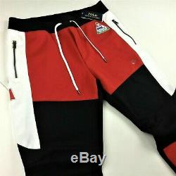 Polo Ralph Lauren Men Motocross 92 Race Racing Jogger Sweatpants Pants F-1 Car