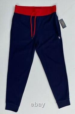 Polo Ralph Lauren Men Size S Color Block Tracksuit Jogger Sweat Pants Jacket NEW