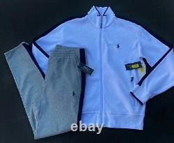 Polo Ralph Lauren Men Size S Pima Tracksuit Jogger Sweat Pants Pima Jacket NEW