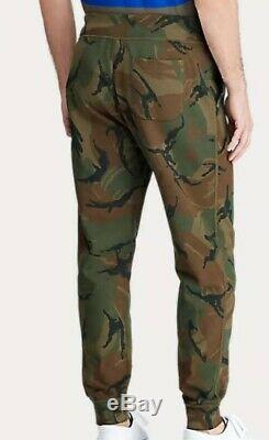 Polo Ralph Lauren Men's Camo Fleece Jogger Pants Size XL-XXL $148 NEW