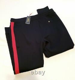 Polo Ralph Lauren Men's Jogger Sweatpants NEWPORT Navy/Red size 2XL