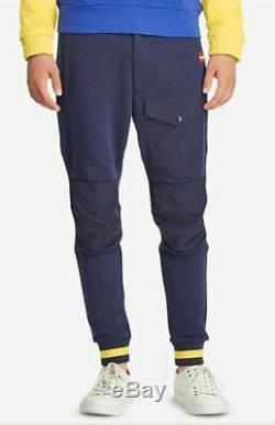 Polo Ralph Lauren Men's Pants Blue Medium Hi Tech Hybrid Sweatpants $198 New