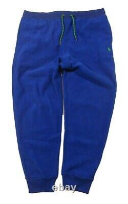 Polo Ralph Lauren Men's Royal Blue Fleece Jogger Pants