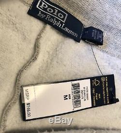 Polo Ralph Lauren Men's Sweatpants Size M Jogger Pants Army Air Force MRSP $148