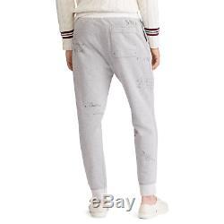 Polo Ralph Lauren Mens Cotton Blend Fleece Jogger Sweatpants Vintage Pants NWT