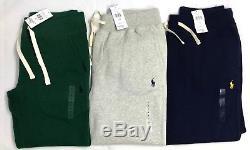 Polo Ralph Lauren Mens New Genuine Navy Grey Joggers Jogging Bottoms Tracksuit