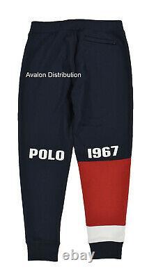 Polo Ralph Lauren Navy Polo 1967 Fleece Joggers Track Pants New