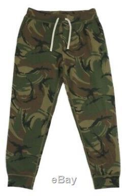 Polo Ralph Lauren Pony Sweatpants Camo Camouflage Fleece Jogger Lounging Pants