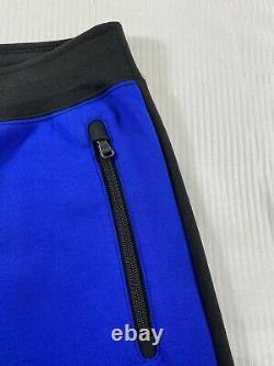 Polo Ralph Lauren RL67 Double Knit Jogger Sweatpants Blue Black New WithTags Men L
