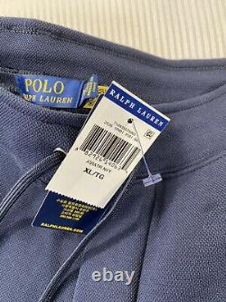 Polo Ralph Lauren Spell Out Mesh Jogger Sweatpants Navy New WithTags Mens XL