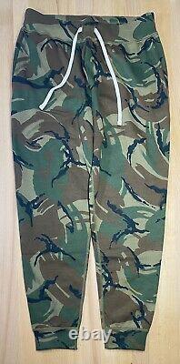 Polo Ralph Lauren Sweatpants Camo Fleece Jogger Pants Mens Size Medium M