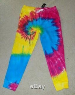Polo Ralph Lauren Tie-Dye Terry Joggers sweat pants mens sz XL NWT SOLD OUT $128