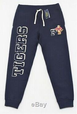 Polo Ralph Lauren Tigers Greys Hall Fleece Sweatpants Jogger Pants L NWT $168