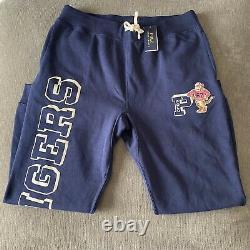 Polo Ralph Lauren Tigers Navy Blue Sweatpants Fleece Jogger Pants Size XL XXL NW