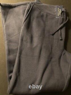 Polo Ralph Lauren Varsity Logo Lion P Patch Jogger Sweatpants Size M New Rare
