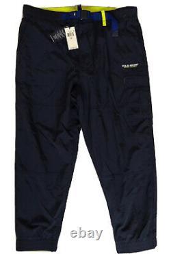 Polo Sport Ralph Lauren Men's Navy Blue Water-Repellent Utility Jogger Pants XL