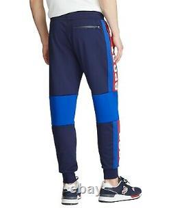 Polo Sport Ralph Lauren Men's Navy Multi Mesh Jogger Track Pants