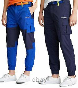 Polo Sport Ralph Lauren VTG Jogger Track Hiking Sweatpants Pants Color-Blocked