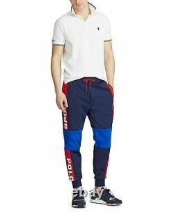 Polo Sport Ralph Lauren Vtg Retro Colorblocked Jogger Sweatpants Pants Track