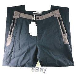 Robert Geller Cotton Nylon Slim Commutter Pants Zip Ankle Mens Size 50 32x29 NWT